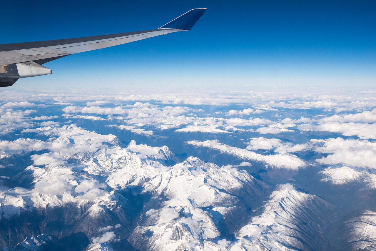 The Rocky Mountains from Above